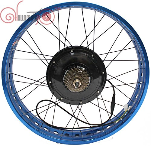 36v750w 48v1000w Fat Tire Electric Bicycle Rear Wheel