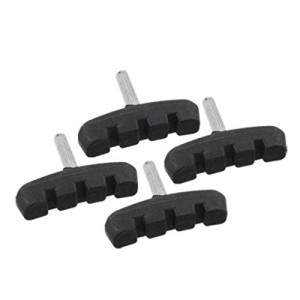 2-Pair-of-Bicycle-Bike-Rubber-Replacement-Brake-Pads-Black-0