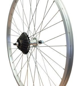 26-Alloy-Mountain-Bike-REAR-Bolt-Wheel-Screw-On-TWR943-1428-Shimano-Freewheel-0