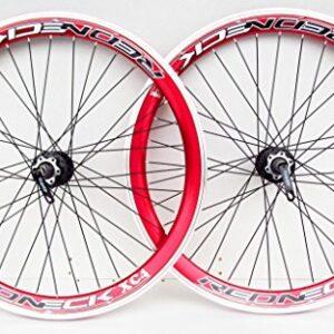 BOMBPROOF-Redneck-26-Wheel-Mountain-Bike-Disc-vbrake-Brake-Wheels-8910-Speed-cassette-type-Ultra-Deep-42mm-v-section-rims-0