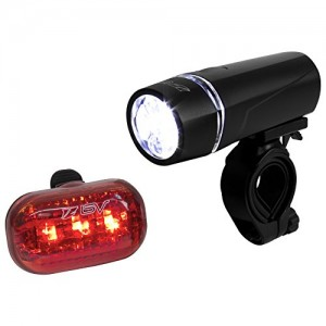BV-Bicycle-Light-Set-Super-Bright-5-LED-Headlight-and-3-LED-Taillight-Quick-Release-2-Colors-Available-0