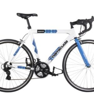 Barracuda-Mens-Team-Bike-Road-Bike-WhiteBlue-Wheel-700C-Frame-22-12-Inch-0