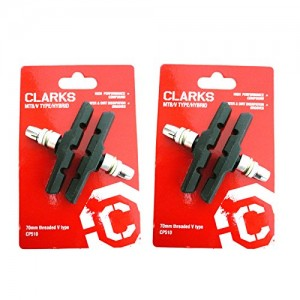 Clarks-CP510-Mountain-Bike-Brake-Blocks-for-Rim-Style-Brakes-70mm-2-Pairs-0