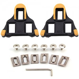 MultiWare-Cycling-Road-Bike-Self-locking-Pedal-Cleats-Set-for-Shimano-SM-SH11-SPD-SL-2pcs-0