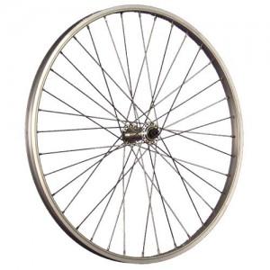 Taylor-Wheels-24inch-bike-front-wheel-Shimano-TX800-silver-0
