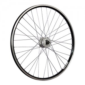 Taylor-Wheels-28-inch-bike-front-wheel-ZAC2000-Shimano-DH-3N31-thru-axle-black-0