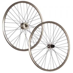 Taylor-Wheels-28inch-bike-wheel-set-Shimano-hub-dynamo-Acera-silver-0