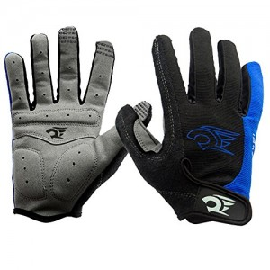 West-Biking-Mens-Spring-Autumn-Full-Finger-Bike-Gloves-Bicycle-Cycling-Glove-Come-with-a-West-Biking-Key-Chains-0