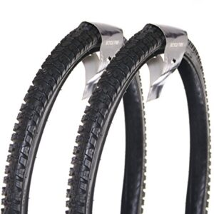 2-X-Dunlop-26-x-195-Brand-New-Mountain-Bike-Tyres-in-a-Pair-Cycle-All-Terrain-for-replacement-tires-Mtb-Great-Quality-for-a-Wheelset-and-are-Official-and-Genuine-0
