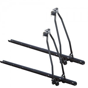 2-x-Universal-Car-Roof-Bar-Mounted-Bicycle-Carrier-Upright-Bike-Rack-Cycle-Locking-0