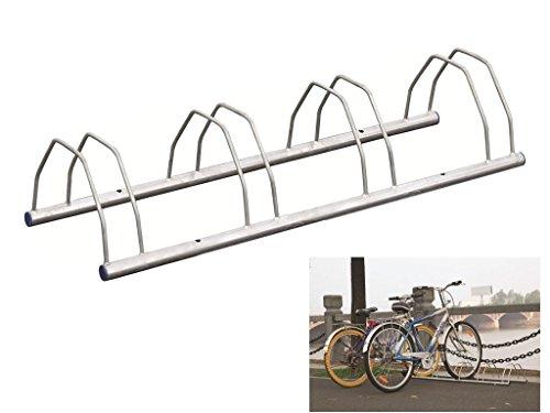 3 4 5 Bike Floor Or Wall Mount Bicycle Galvanized