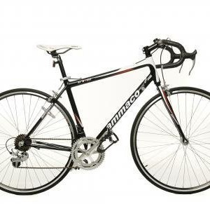 AMMACO-XRS600-ALLOY-MENS-RACING-ROAD-BIKE-55cm-FRAME-14-SPEED-BLACKWHITE-PICTURE-SHOWS-SMALLER-FRAME-SIZE-0