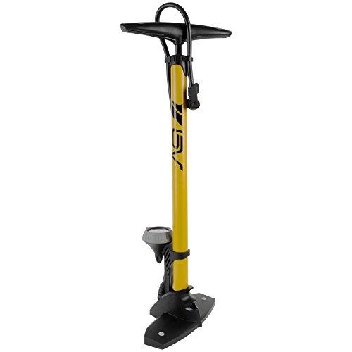 Bv Bicycle Steel Floor Pump With Gauge 160 Psi
