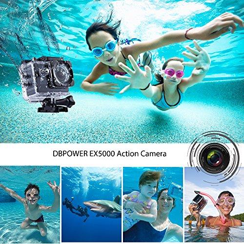 dbpower ex5000 action camera manual