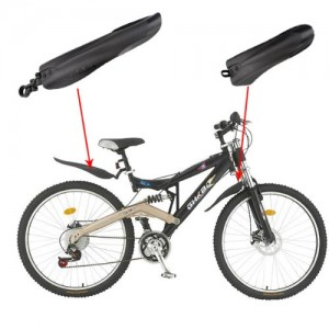 Mountain-Bike-Bicycle-Road-Tyre-Tire-Front-Rear-Mudguard-Fender-Set-Mud-Guard-0