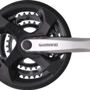 Shimano-Tourney-FCM131-Crankset-42t-170mm-with-CHAINGUARD-FCM131C244C-K-0
