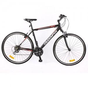 Muddyfox-Mens-Tempo200-Hybrid-Bike-Tech-Spec-Bicycle-Lightweight-0