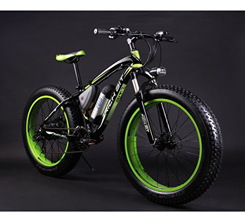 richbit rt 012 green black electric bike sale 33 off. Black Bedroom Furniture Sets. Home Design Ideas