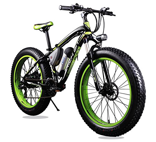 Richbit Rt 012 Green Black Electric Bike Sale 33 Off