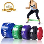 Resistance-Bands-FREETOO-Workout-Bands-Stretch-Exercise-Pull-up-Rubber-Bands-of-5-levels-for-Men-and-Women-Home-GymsYogaPilatesPhysical-TherapySingle-Unit-0