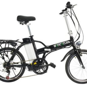 Byocycle-City-Speed-6-Speed-Folding-Electric-Bike-Bicycle-20-Wheels-Black-0