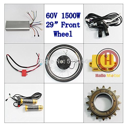 Ebike electric bike conversion kit 29inch bicycle front for Most powerful brushless motor