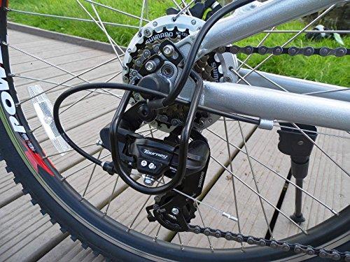 fenetic sport folding electric mountain bike e bike with. Black Bedroom Furniture Sets. Home Design Ideas