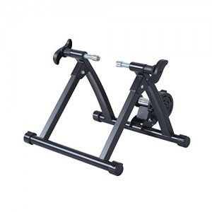 Homcom-Quiet-Indoor-Bicycle-Magnetic-Foldable-Turbo-Trainer-Black-26-27-Inch-0