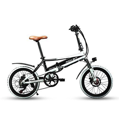 richbit u00c2 u00ae new rt700 20 u0026 39  u0026 39  folding electric bike 250 watt motor shimano tz 7 speeds 48v 8a lithium