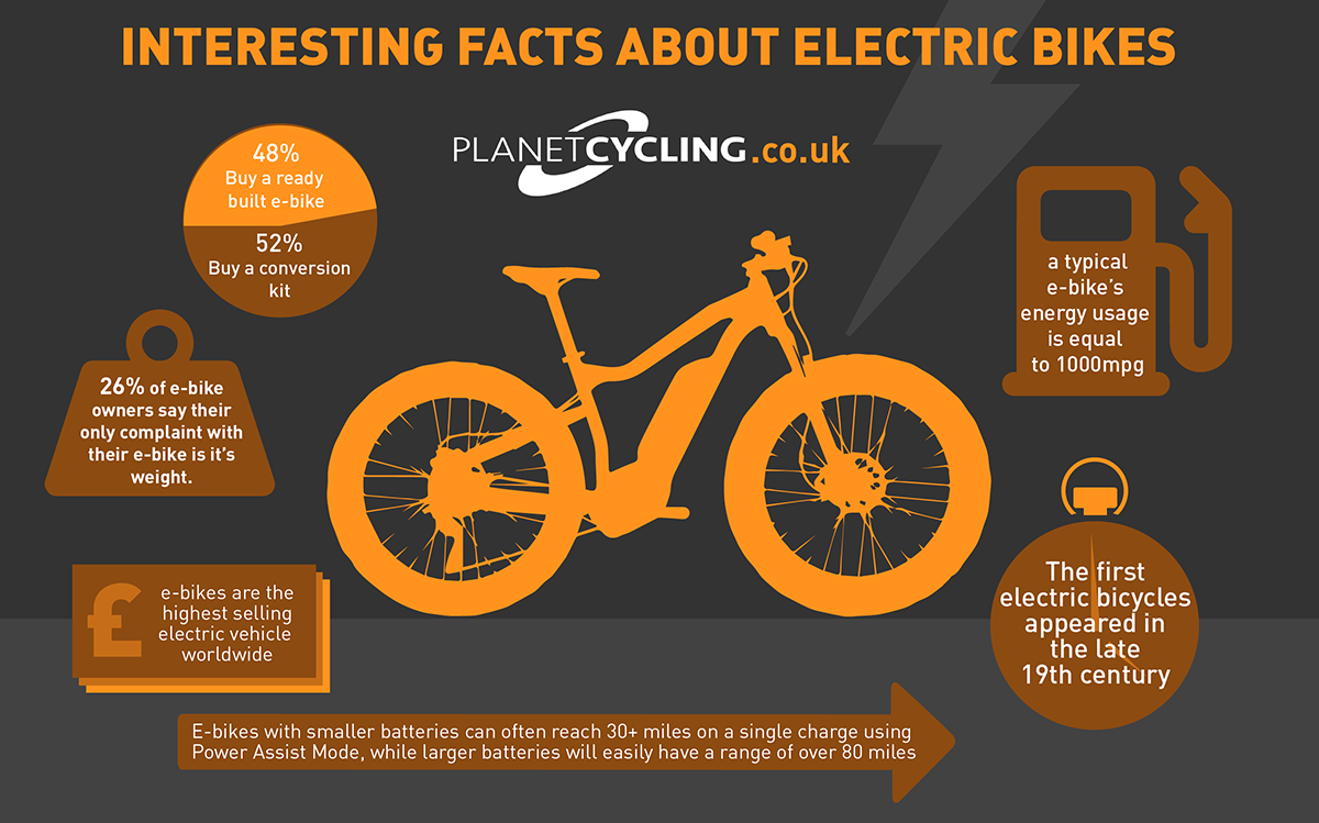 Interesting Facts About Electric Bikes Infographic