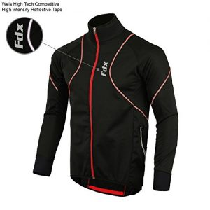 FDX-Mens-Performance-Cycling-Jacket-Wind-stopper-Thermal-Winter-Running-Hi-viz-0