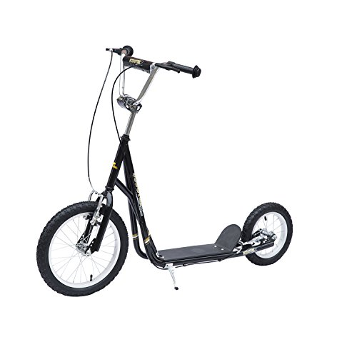 homcom adult teen push scooter kids children stunt scooter. Black Bedroom Furniture Sets. Home Design Ideas
