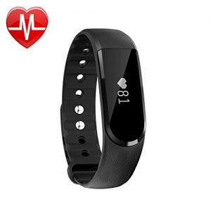 LETSCOM-Fitness-Tracker-Watch-with-Heart-Rate-Monitor-Bluetooth-40-OLED-Touch-Screen-Smart-Fitness-Band-IP67-Waterproof-Activity-Tracker-for-iPhone-Android-Smart-Phone-0