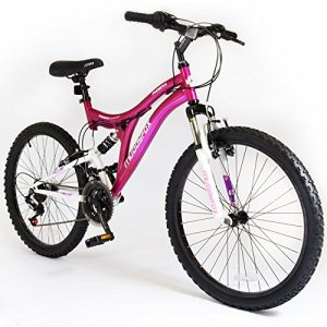 24-Phoenix-Ladies-KIDS-BIKE-Small-Adult-MFX-Bicycle-in-PINK-Dual-Sus-0