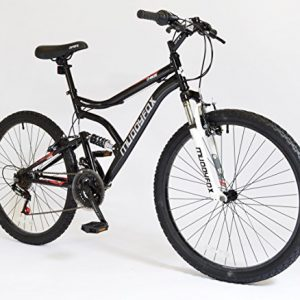 26-Chaos-Mens-KIDS-BIKE-Adult-MFX-Bicycle-in-BLACK-and-RED-Dual-Sus-0