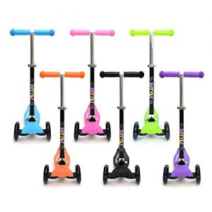 3Style-Scooters-RGS-1-Scooter-Tilt-Kick-board-Mini-T-Bar-3-Wheel-Kick-Scooter-Board-for-Boys-Girls-Children-Kids-With-Spin-Flash-LED-Wheels-Perfect-Unique-Present-Xmas-Christmas-Gift-Free-Upgrade-to-E-0