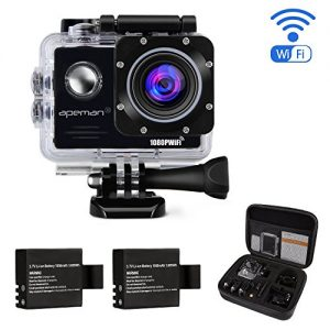 APEMAN-Action-Camera-A70-Wi-Fi-14MP-1080P-Waterproof-30m-20-LCD-170-Ultra-Wide-Angle-Two-1050mAh-Batteries-with-Portable-Package-Case-and-Kit-of-Accessories-0