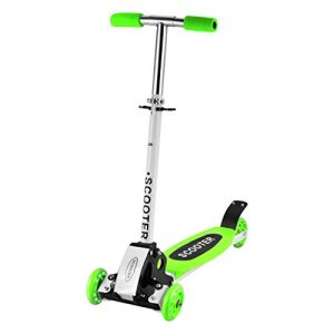 Ancheer-Kids-3-Wheels-Scooter-Micro-Mini-Push-Folding-Adjustable-T-Bar-Toddler-Kick-Scooter-For-Boys-Girls-Children-2-9-Years-Old-0