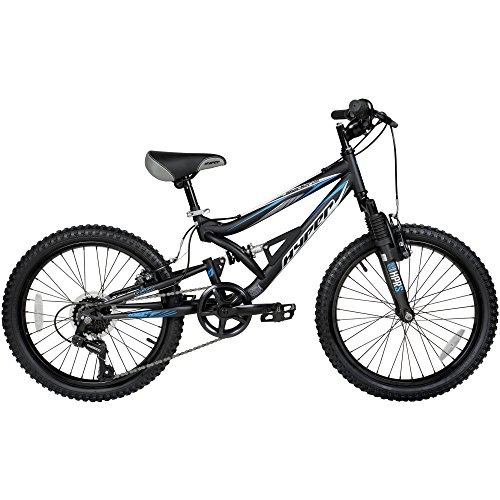 Hyper Shocker 20 Wheel Boys Mountain Bike Dual Full