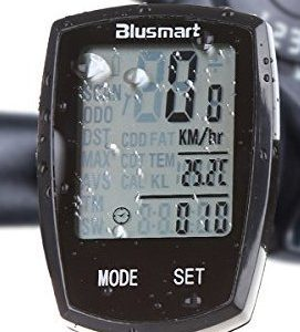 Bike-Computer-Blusmart-Wireless-Cycle-Computer-Waterproof-Automatic-Wake-up-Large-LCD-Backlight-Motion-Sensor-Outdoor-Cycling-Realtime-Speed-Track-0
