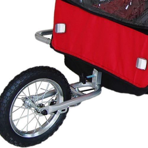 Children Bicycle Trailer & Jogging Stroller Combo-Red ...