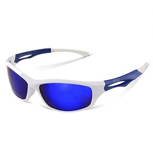 914efcbfb2 DUCO Polarized Sports Sunglasses for Running Cycling Fishing Golf TR90  Unbreakable Frame 6199 - planetcycling.co.uk