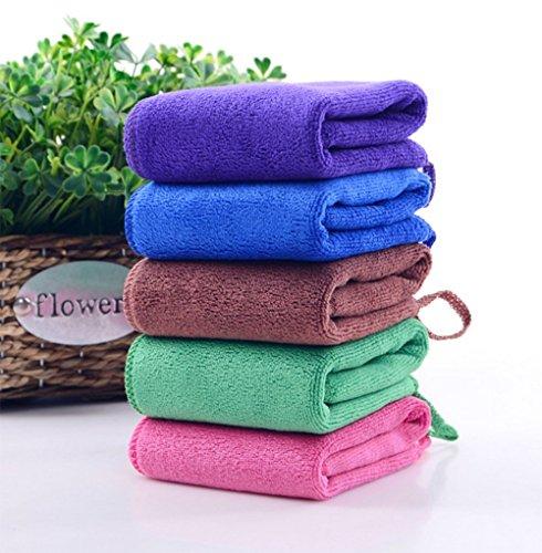 Zip Soft Microfiber Towel: Demarkt Solid Color Towel Microfiber Super Soft Adult