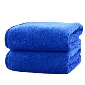 Demarkt-Solid-color-towel-Microfiber-Super-soft-adult-child-towel-Green-0