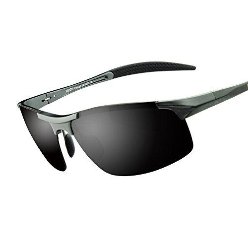 59f10edeb118 Duco Men s Driving Sunglasses Polarized Glasses Sports Eyewear Fishing Golf  Goggles 8177S