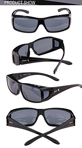 1de421fe281 Duco Unisex Wear Over Prescription Glasses Rx Glasses Polarized Sunglasses  ...