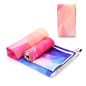 Microfiber-Sport-Towel-by-TY-Large-140x70cm-with-30x40cm-hand-towel-in-carrier-Bag-lightweight-and-ultra-absorbent-Travel-Towel-Beach-Towel-Micro-Towel-Sport-Towel-for-Gym-Camping-Swimming-Yoga-Pilate-0