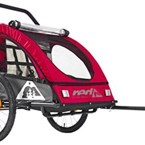 Red-Cycling-Products-PRO-Kids-BikeTrailer-Bike-Trailer-greyred-2017-Child-Kids-Bike-Trailer-0