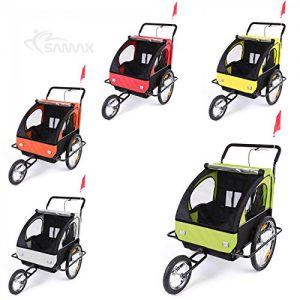 Samax-2-in-1-Bicycle-Trailer-and-Jogger-0