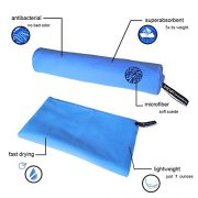 Set-2-Pack-Microfiber-Towel-with-Carry-Bag-CANWN-Compact-Quick-Dry-Micro-Travel-Towel-130x77cm-with-HandFace-Towel-40x30cm-Antibacterial-Absorbent-Sport-Towel-for-Gym-Camping-Swim-Yoga-Pilates-Bikram--0-0